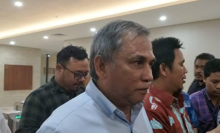 Majalah Tempo kembali dilaporkan ke Bareskrim Mabes Polri oleh Bekas Komandan Tim Mawar, Mayjen (Purn) Chairawan, Selasa (9/7). (Foto: Medcom)