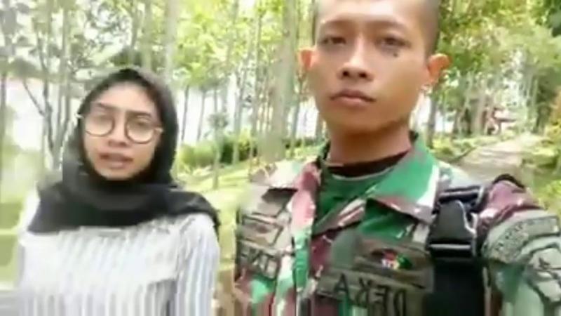 Deka TNI gadungan yang menipu banyak wanita (YouTube/Ghofur ruroh asyik)