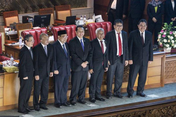 5 Anggota BPK Periode 2019-2024 Terpilih. (Inilah)