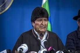 Evo Morales (Bloomberg)
