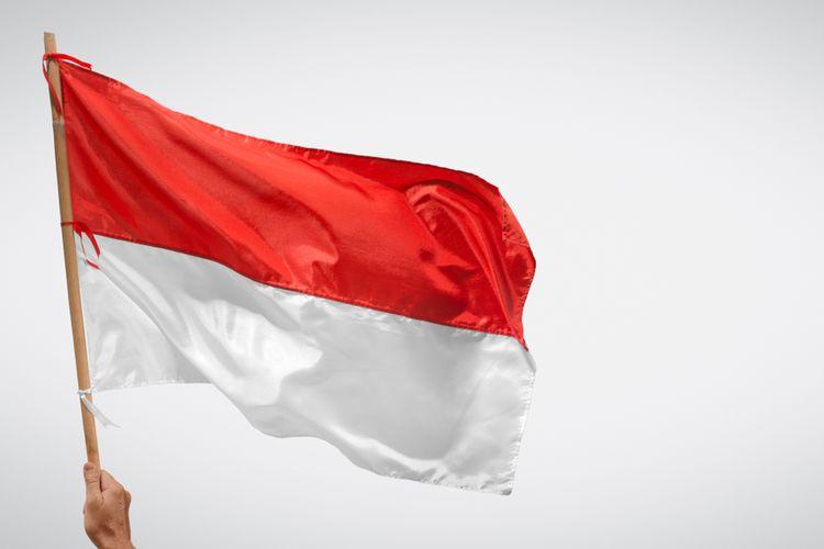 Ilustrasi Bendera Merah Putih. (Foto: Kompas.com/Shutterstock)