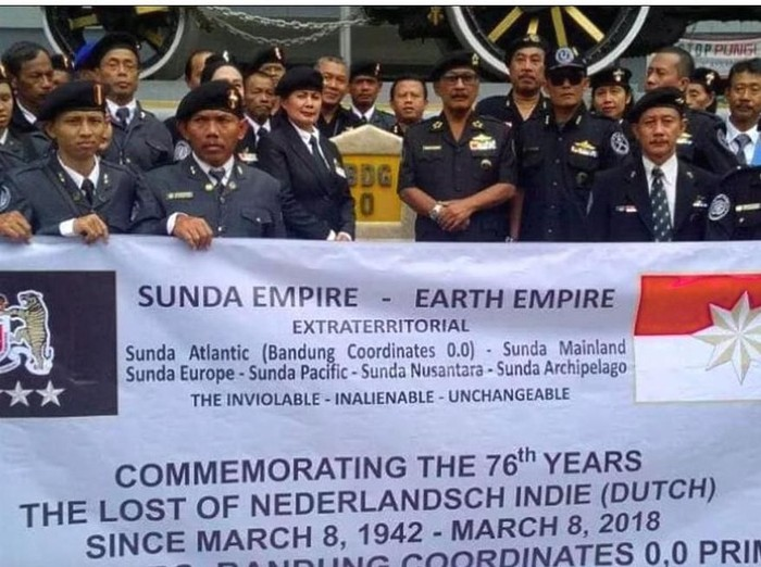 Kerajaan Sunda Empire - Earth EMpire (detik)