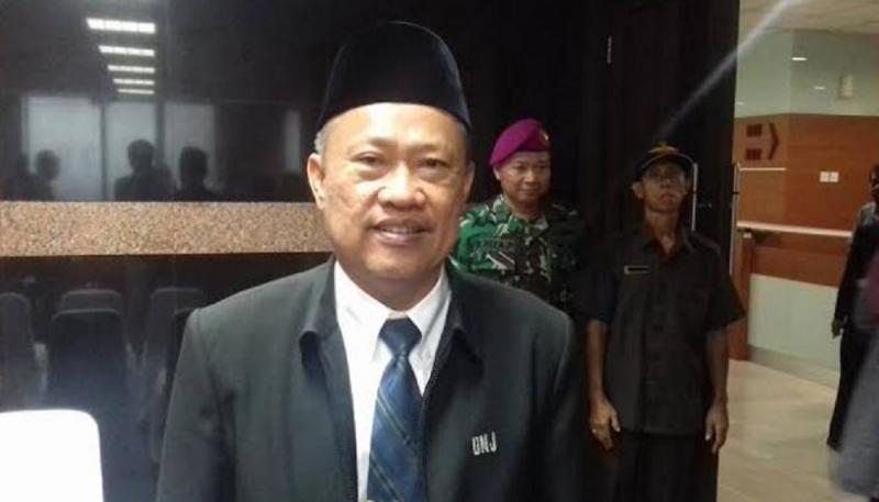 Rektor UNJ Komarudin terjaring OTT KPK. (Publicanews).