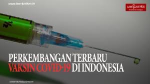 Perkembangan Terbaru Vaksin Covid-19 di Indonesia