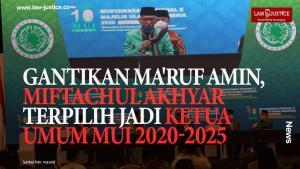 Gantikan Ma`ruf Amin, Miftachul Akhyar Jadi Ketum MUI 2020-2025