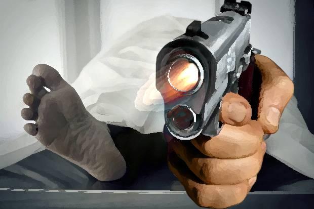 Ilustrasi praktik tembak mati yang dilakukan polisi (sindonews)